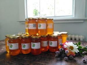 honey jar photo